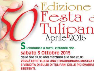Una fiera dedicata al bulbo di tulipano a Castiglione