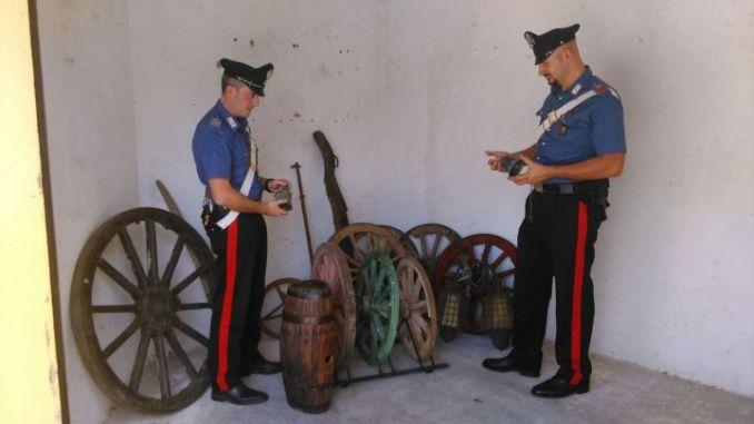 Ladri di campane a Ferentillo di Terni, denunciato 80enne ricettatore
