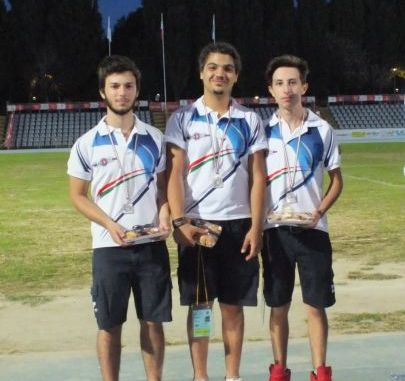 I risultati degli Arcieri Città di Terni ai campionati italiani Targa