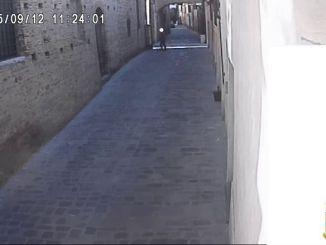Ripreso dalle telecamere mentre rubava a Città di Castello, arrestato