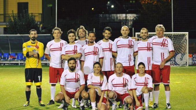 Inaugurazione campo di calcio di Ponte della Pietra