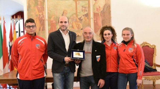 presentazione dell'Associazione Sportiva Arcieri Augusta Perusia