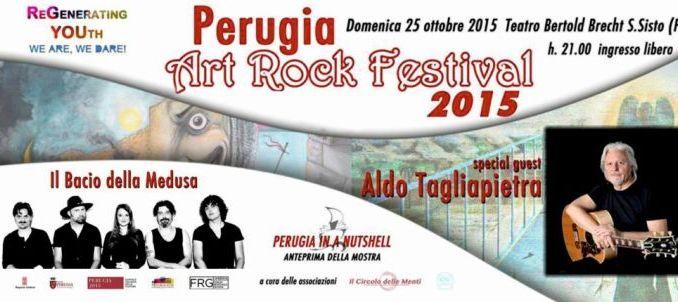 Perugia Art Rock Festival domenica 25 ottobre al Brecht di San Sisto