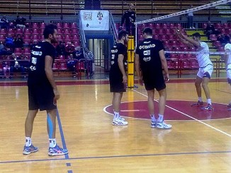 Allenamento Sir Safety Volley e Molfetta, i pugliesi si impongono