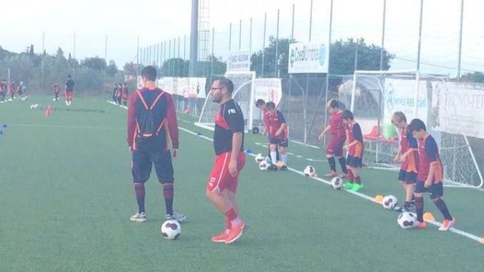 Academy, seduta di allenamento con San Marco Juventina