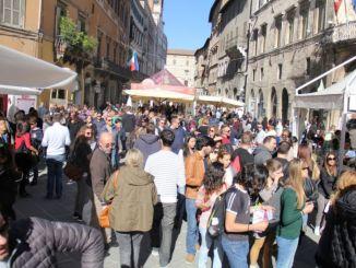 Tutti a Perugia per il weekend conclusivo di Eurochocolate!