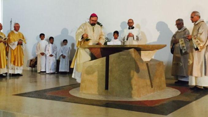 Consacrata la chiesa interparrocchiale di Olmo-Chiugiana-Ellera-Fontana