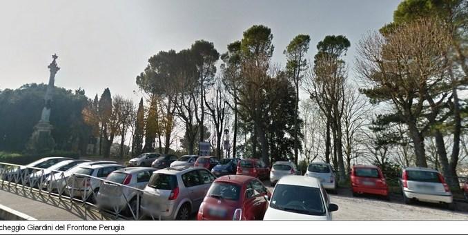 Parcheggio selvaggio ai Giardini del Frontone, Pastorelli (FDI-AN) presto soluzione
