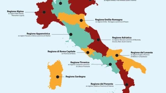 Claudio Ricci, Macroregioni, «No alla Cancellazione dell'Umbria»