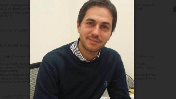 Andrea Rossi nuovo coordinatore comunale di Fratelli d'Italia AN Perugia
