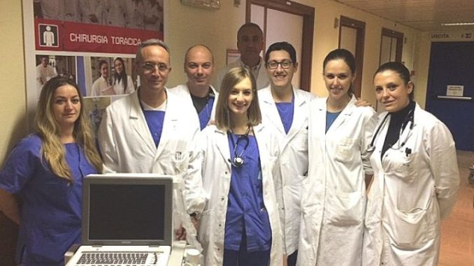 Famiglia perde figlio e dona ecografo alla Chirurgia Toracica dell'Ospedale di Perugia