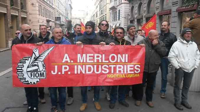 Ex Antonio Merloni: al via incentivi reindustrializzazione