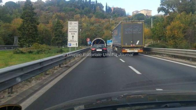 Anas, lavori notturni sul raccordo Perugia-Bettolle a Ponte san Giovanni