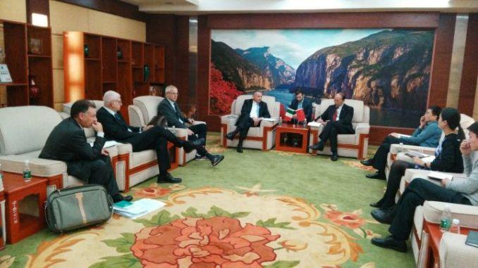 """Il """"sistema Umbria"""" si promuove in Cina"""