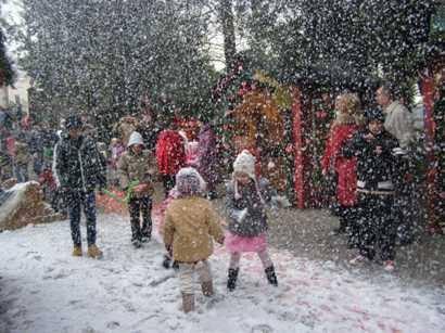 Snow party, città della domenica,