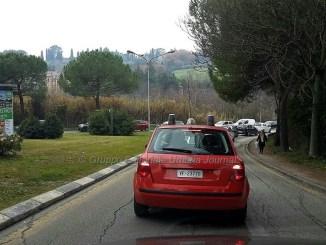 Umbria divisa in due per incidente, raccordo bloccato a Perugia