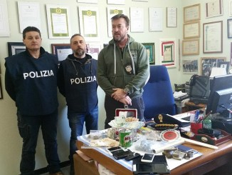Droga nascosta negli appartamenti, tre africani arrestati