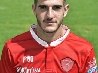 Edoardo Pettinelli (foto tratta dal sito del Perugia Calcio)