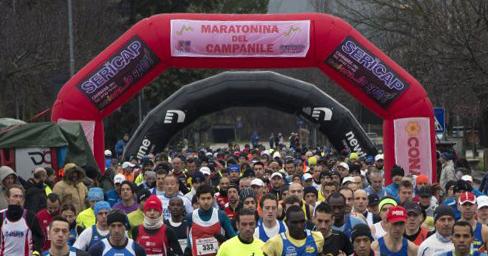 Tutto pronto per la Maratonina del Campanile del 7 febbraio