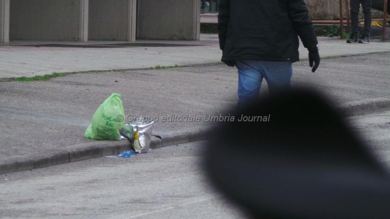 Bomba Banca Etruria, in quella zona non ci sono telecamere