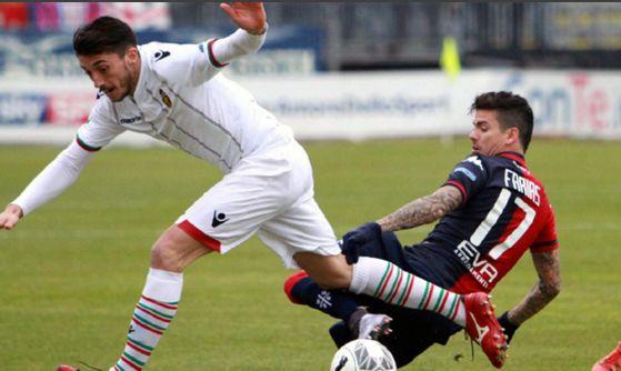 La Ternana si arrende, all'Is Arenas vince il Cagliari