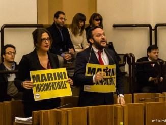 """Crisi Regione, Appello M5s: """"Andatevene tutti a casa!"""""""