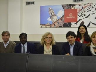 Il Sindaco Romizi in visita all'Università dei Sapori