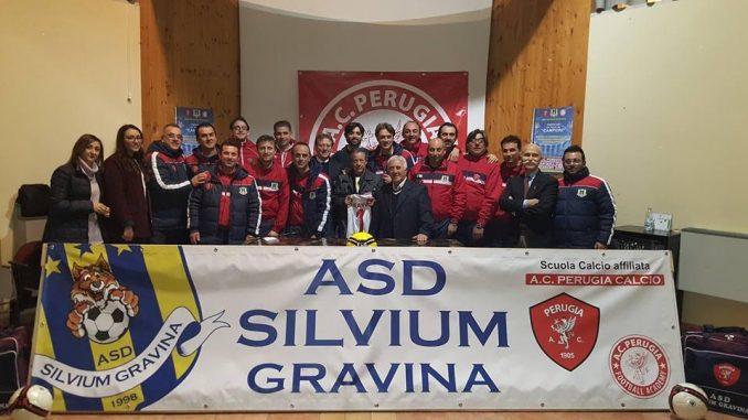Perugia calcio, progetto Academy presentato alla Silvium Gravina