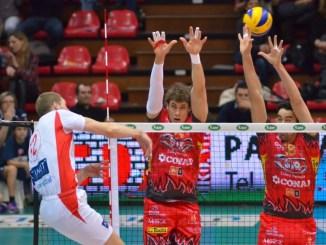 Block Devils, Vittoria in rimonta a Piacenza, ma prestazione deludente