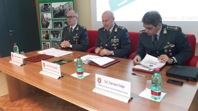 Guardia di finanza dell'Umbria, imponente lavoro investigativo