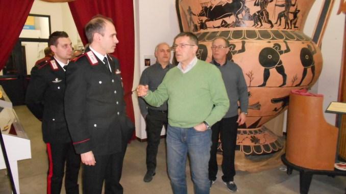 Mirko Fringuello, Carabinieri Ponte San Giovanni, alla Pro Ponte. Il comandante per 18 anni è stato in forza al ROS tra Ancona e Perugia