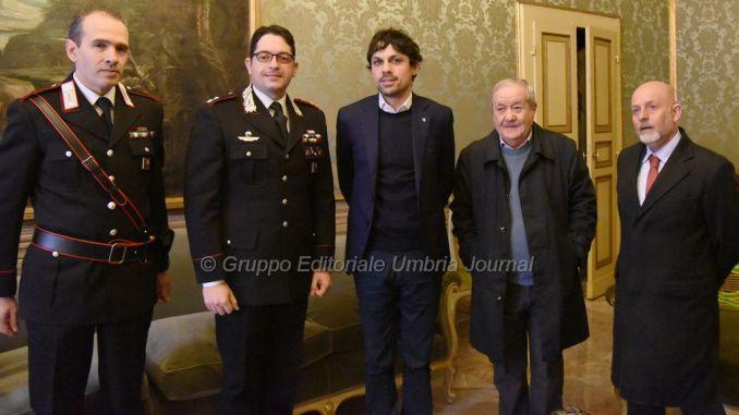 Ponte San Giovanni, Romizi incontra nuovo comandante Carabinieri