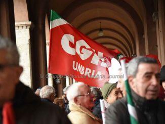 Pensioni, sindacati in piazza a Perugia con Susanna Camusso