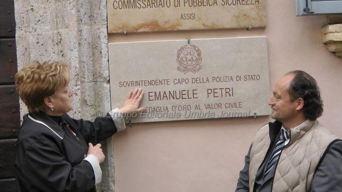 Commissariato Assisi intitolato a Emanuele Petri [FOTO e VIDEO]