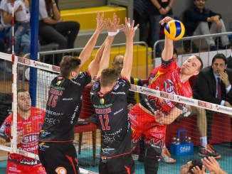 Volley, Sir Safety, il tie break di gara 1 è bianconero