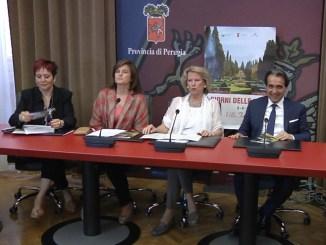 Anna Barbieri, Donatella Porzi, Giuseppina Massi Benedetti, Moreno Landrini