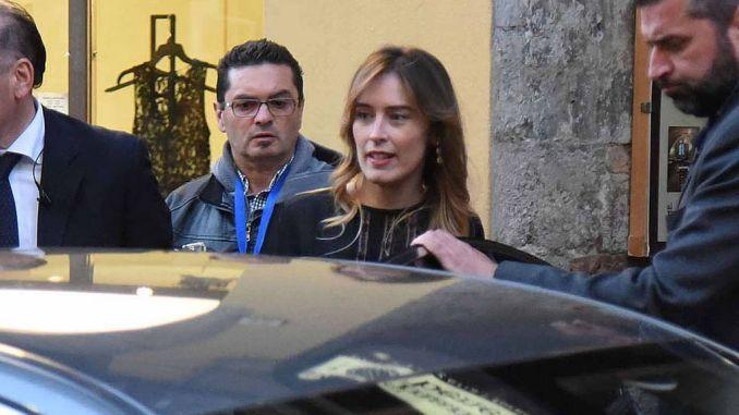 Maria Elena Boschi a Perugia, folla al Teatro Pavone [VIDEO E FOTO]