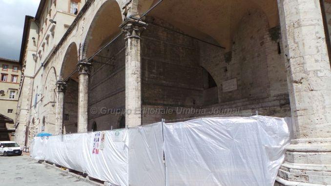 """Perugia, che fine ha fatto il """"Choco bar"""" sotto le Logge di Braccio?"""