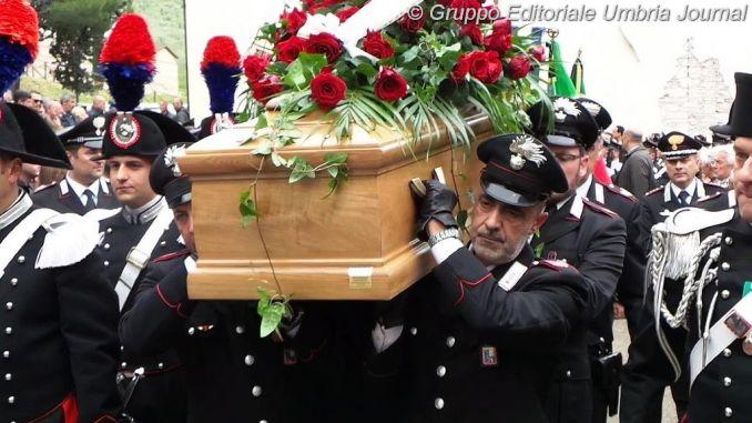 Celebrato funerale del Maresciallo Capo Massimo Massaccesi [FOTO]