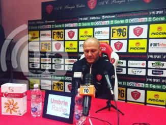Perugia Calcio, ecco l'ultima conferenza di Bisoli