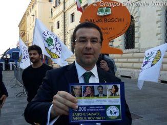 Candiani Lega Nord, Renzi fugge dal Centro di Perugia