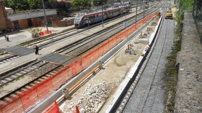 Stazione ferroviaria Ponte San Giovanni, Mori, monitorare condizioni dello scalo