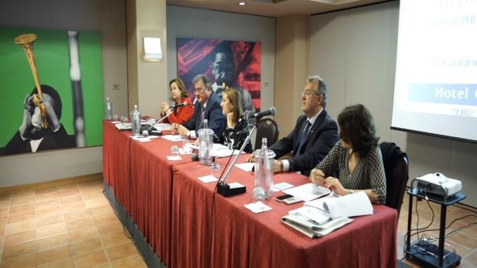 Da sinistra Ada Girolamini, Claudio Bendini, Silvana Roseto, Walter Orlandi, Assunta Morresi