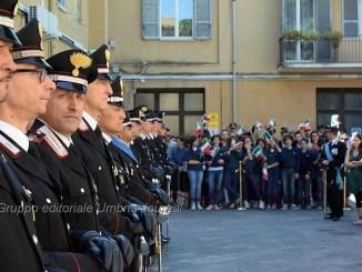 Virgo Fidelis la festa dell'Arma dei Carabinieri a Perugia