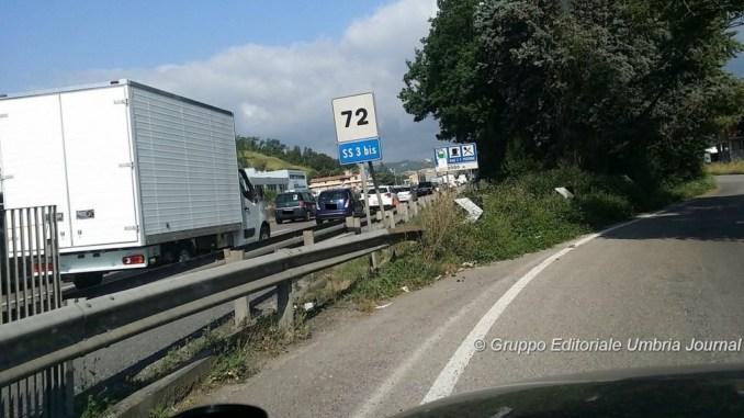Lavori Perugia-Bettolle, chiusa corsia in direzione Ponte San Giovanni