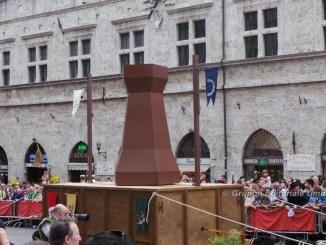Perugia 1416, Rione Porta san Pietro vince la Mossa alla Torre [FOTO E VIDEO]
