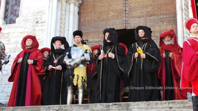 Perugia 1416, il rione Porta Santa Susanna vince il primo Palio [FOTO E VIDEO]