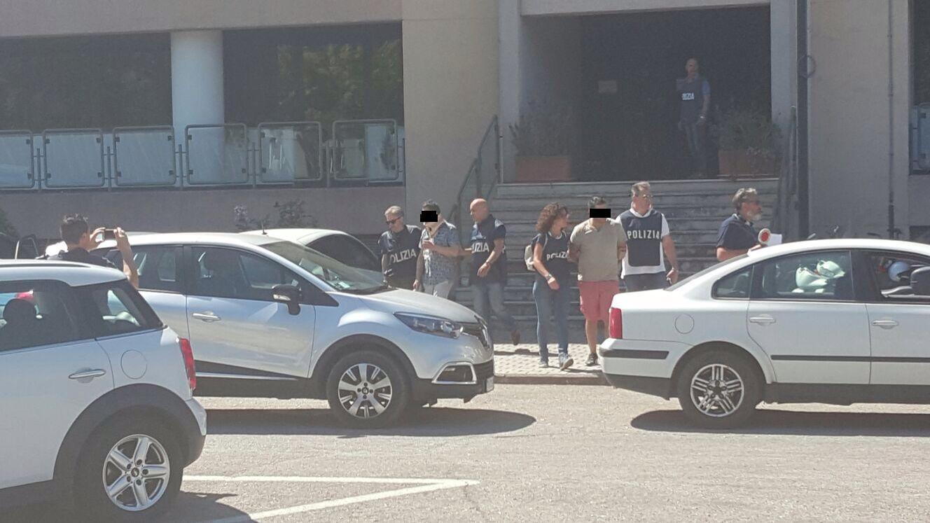 Alcuni degli arrestati (1)