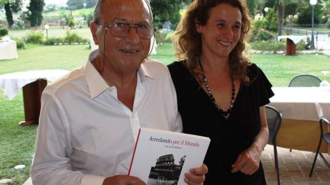 Riccardo Biscarini con la figlia Emanuela