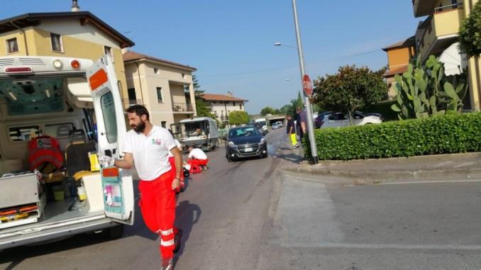 Incidente stradale a Bastia, un uomo in ospedale